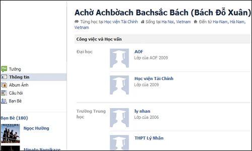 """""""Cười té ghế"""" với bộ sưu tập những cái tên Facebook độc nhất vô nhị  - Ảnh 2"""