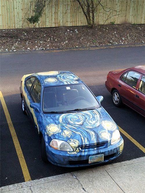 """""""Đã mắt"""" với muôn kiểu trang trí ô tô có """"1-0-2"""" đầy sáng tạo - Ảnh 6"""