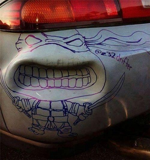 """""""Đã mắt"""" với muôn kiểu trang trí ô tô có """"1-0-2"""" đầy sáng tạo - Ảnh 1"""
