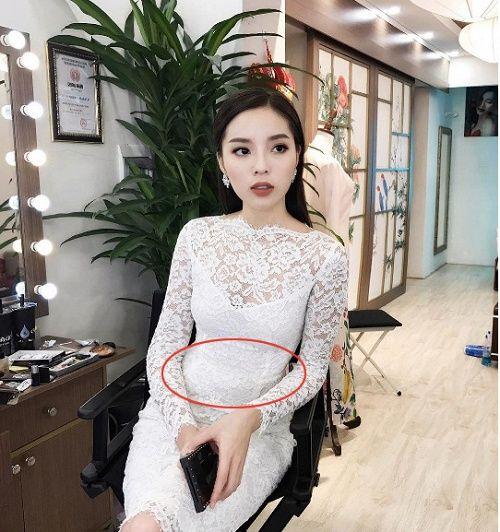 Ngỡ ngàng với những lần để lộ vòng 2 ngấn mỡ của mỹ nhân Việt - Ảnh 8