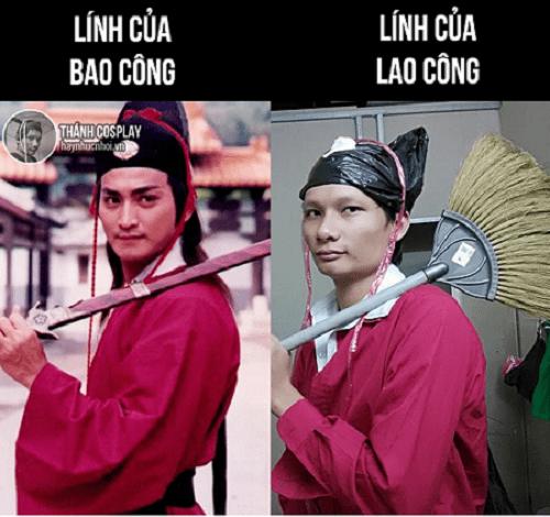 """""""Cười thả ga"""" với những màn cosplay của anh chàng """"lầy"""" nhất Việt Nam - Ảnh 1"""