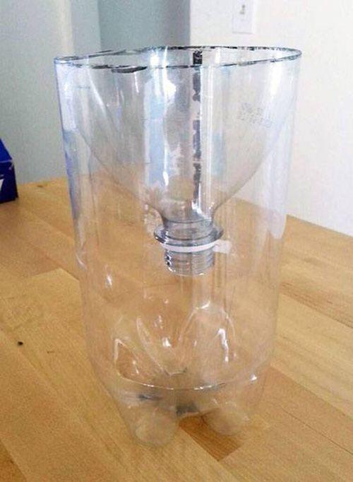 Bỏ túi ngay 7 cách tái sử dụng chai nhựa trong làm vườn - Ảnh 2