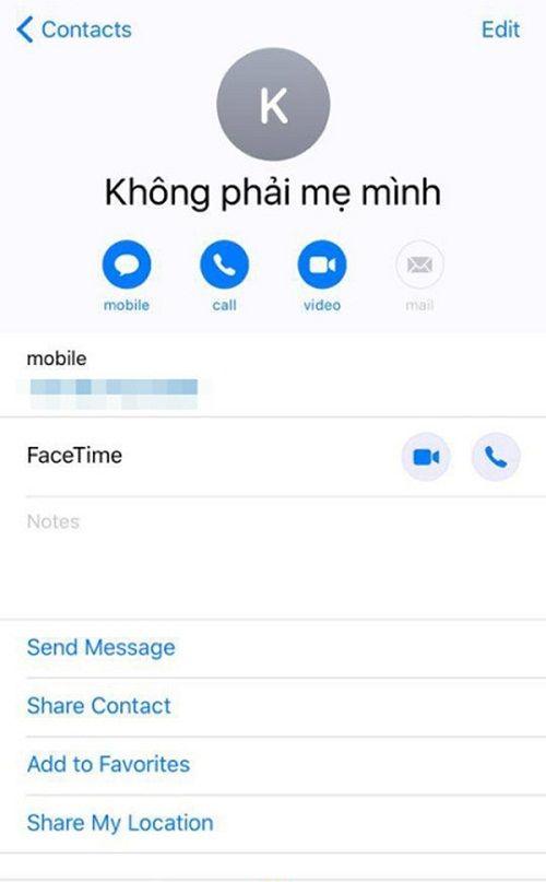 Chết cười với cách lưu tên mẹ chồng trong điện thoại của các nàng dâu - Ảnh 4