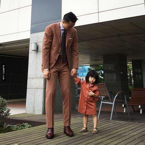 Mẹ ghen tỵ khi xem loạt ảnh siêu đáng yêu của ông bố Hàn Quốc và con gái - Ảnh 3