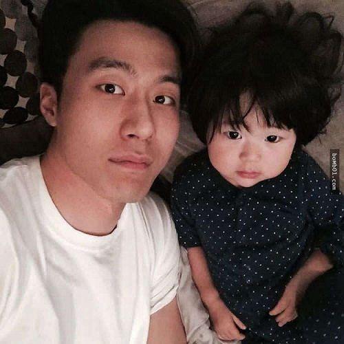 Mẹ ghen tỵ khi xem loạt ảnh siêu đáng yêu của ông bố Hàn Quốc và con gái - Ảnh 9