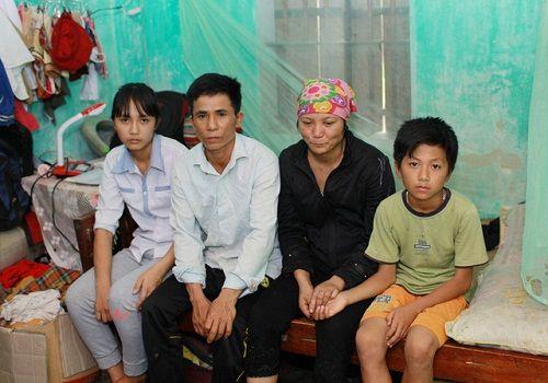 Thắt lòng với bức thư cầu xin phép màu cứu cả gia đình bệnh tật của nữ sinh lớp 9 - Ảnh 1