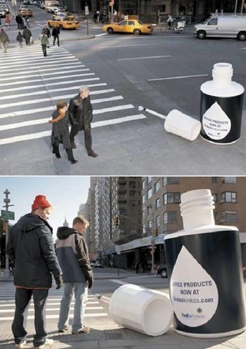 Những mẫu quảng cáo độc lạ, siêu thông minh 'hút' mọi ánh nhìn - Ảnh 5