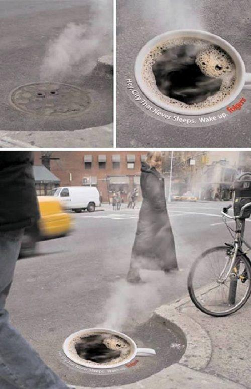 Những mẫu quảng cáo độc lạ, siêu thông minh 'hút' mọi ánh nhìn - Ảnh 1