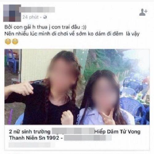 Bị tung tin đồn thất thiệt trên mạng, hai nữ sinh đòi tự tử - Ảnh 2
