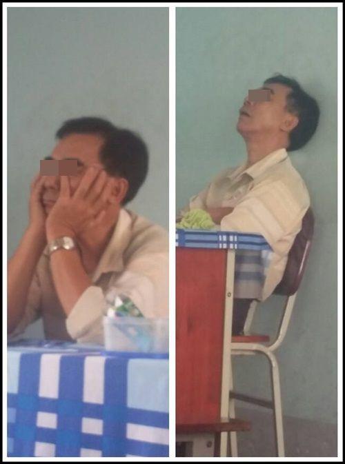 Chết cười với những tư thế giảng bài bá đạo của thầy cô - Ảnh 8