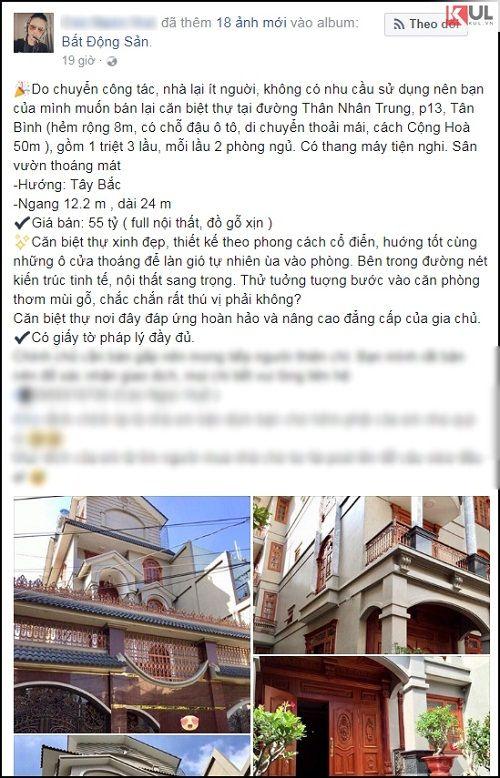Dân mạng dậy sóng với căn nhà trong hẻm ở Sài Gòn được rao bán 55 tỷ đồng - Ảnh 1
