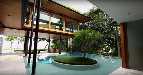 Kỳ lạ căn nhà độc đáo dưới nước với chi phí hơn 22 tỷ đồng - Ảnh 2