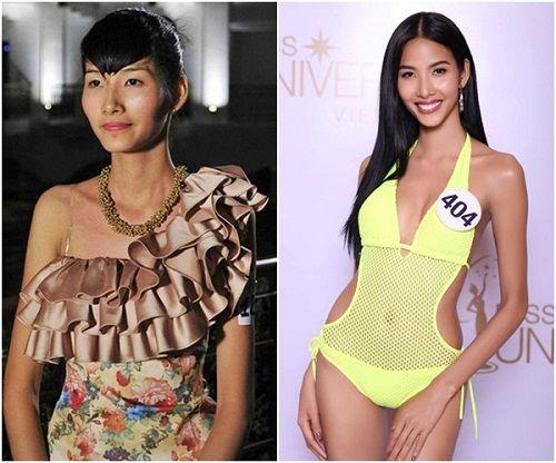 Bất ngờ trước nhan sắc thí sinh Hoa hậu Hoàn vũ Việt Nam 2017 khi trút bỏ son phấn - Ảnh 1