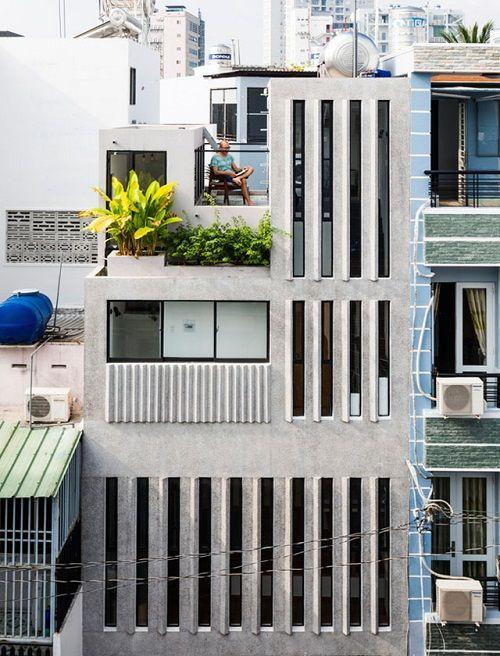 Bất ngờ với thiết kế thông minh, ấn tượng của căn nhà chỉ 18m² ở Sài Gòn - Ảnh 1