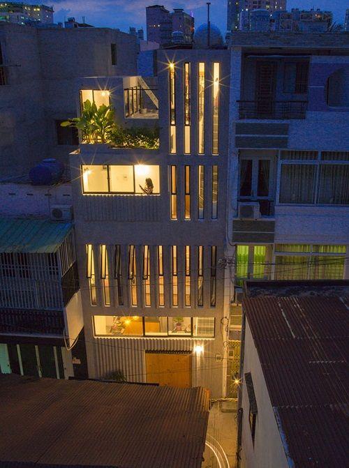Bất ngờ với thiết kế thông minh, ấn tượng của căn nhà chỉ 18m² ở Sài Gòn - Ảnh 2
