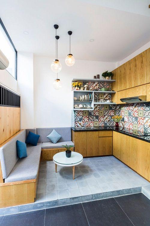 Bất ngờ với thiết kế thông minh, ấn tượng của căn nhà chỉ 18m² ở Sài Gòn - Ảnh 5