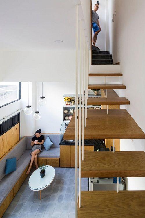 Bất ngờ với thiết kế thông minh, ấn tượng của căn nhà chỉ 18m² ở Sài Gòn - Ảnh 7