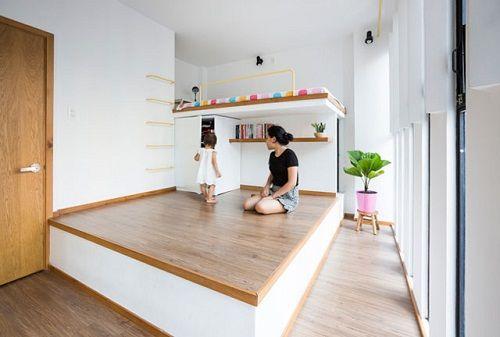 Bất ngờ với thiết kế thông minh, ấn tượng của căn nhà chỉ 18m² ở Sài Gòn - Ảnh 8