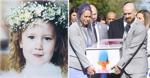 Bố mẹ lặng lẽ khiêng quan tài con mà rỏ lệ: Câu chuyện xúc động sau cái chết của cô bé 4 tuổi - Ảnh 1