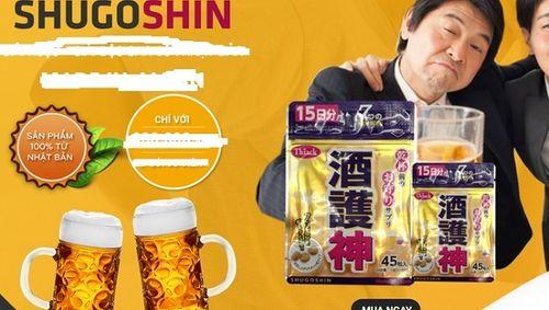 Cẩn trọng với thông tin quảng cáo sản phẩm thực phẩm giải rượu - Ảnh 1