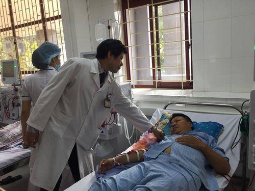 Thông tin mới nhất bệnh nhân được lọc máu tại BV Đa khoa Hòa Bình - Ảnh 1