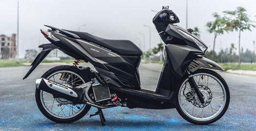 Cận cảnh xe Honda tay ga độ độc nhất Việt Nam - Ảnh 1