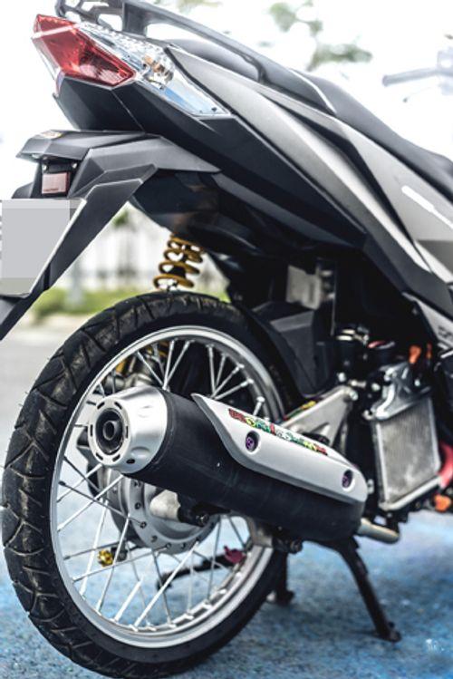Cận cảnh xe Honda tay ga độ độc nhất Việt Nam - Ảnh 4