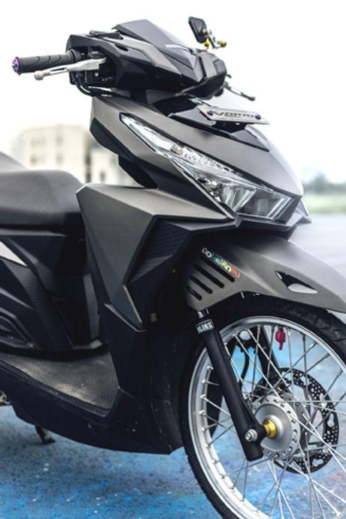 Cận cảnh xe Honda tay ga độ độc nhất Việt Nam - Ảnh 3