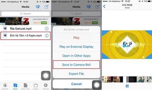 Cách tải mọi video lưu trực tiếp vào album trên iPhone - Ảnh 6