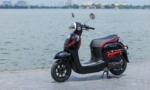 Xe tay ga Honda Giorno Kumamon giá 1.800 USD về Việt Nam - Ảnh 1