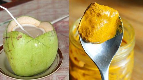Bài thuốc chữa dạ dày từ nghệ và dừa chỉ ít ngày là khỏi bệnh - Ảnh 1