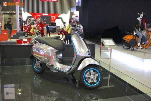 Mẫu xe Vespa chạy điện công suất 5,2 mã lực có gì hấp dẫn? - Ảnh 3