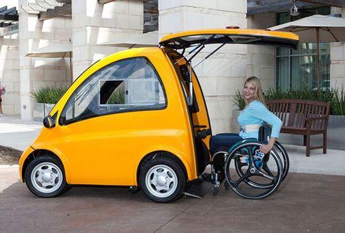 Mẫu xe hơi chuyên phục vụ cho người ngồi xe lăn  - Ảnh 1