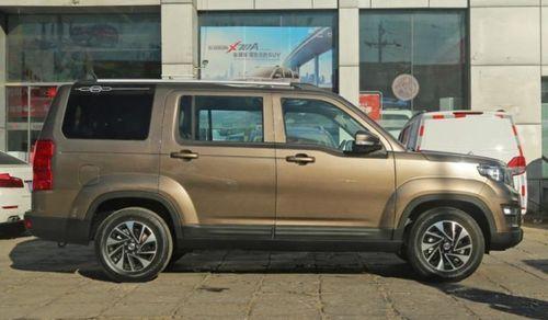 Ô tô Land Rover của Trung Quốc giá 206 triệu đồng: Bánh xe nhỏ như xe tay ga - Ảnh 2