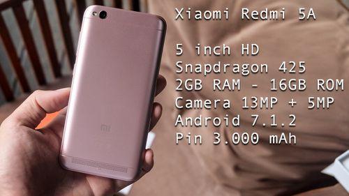 """Đánh giá nhanh Xiaomi Redmi 5A: """"Ông trùm"""" phân khúc dưới 2 triệu đồng? - Ảnh 1"""