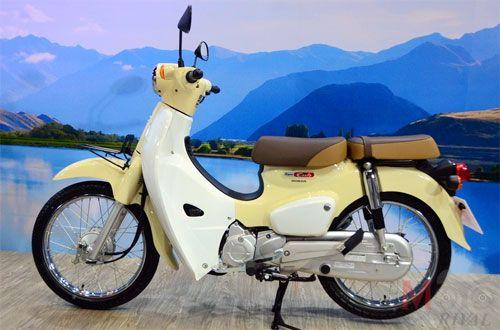 Huyền thoại Honda Super Cub phiên bản mới giá 1.500 USD - Ảnh 1