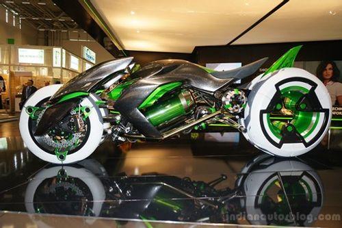 Lộ diện siêu mô tô 3 bánh chạy bằng điện trong tương lai - Ảnh 1