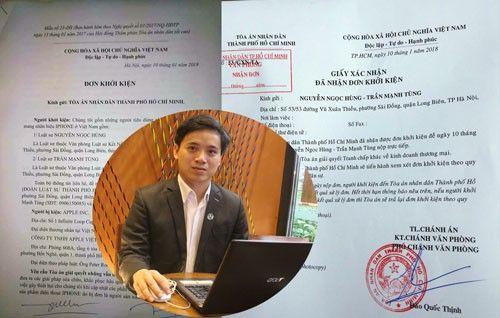 Thông tin mới nhất vụ người dùng kiện Apple ở Việt Nam - Ảnh 1