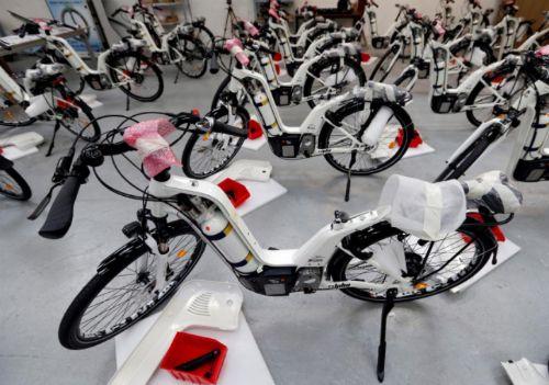 Ra mắt mẫu xe đạp chạy bằng hydro giá 7.500 euro - Ảnh 1