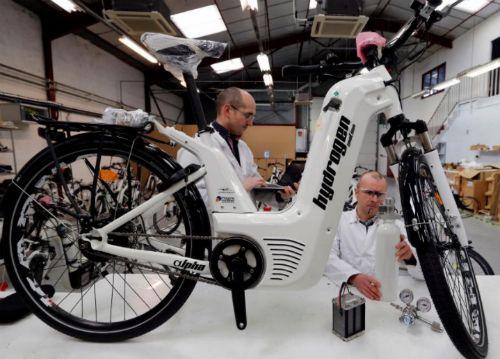 Ra mắt mẫu xe đạp chạy bằng hydro giá 7.500 euro - Ảnh 2