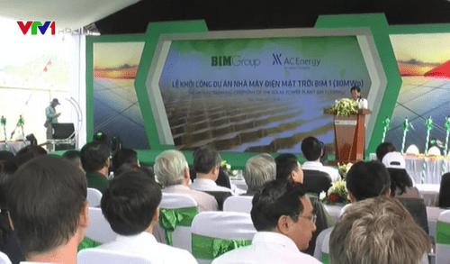 Khởi công nhà máy điện mặt trời với mức đầu tư 800 tỷ đồng - Ảnh 1