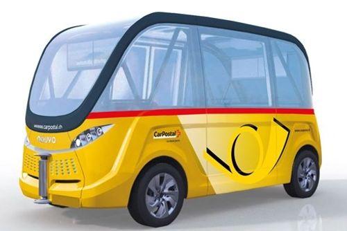 Thụy Điển triển khai dịch vụ xe bus tự lái - Ảnh 1