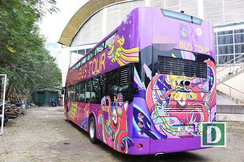 Lộ diện xe buýt 2 tầng mui trần đưa đội tuyển U23 Việt Nam diễu phố - Ảnh 2