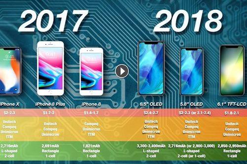 iPhone Xs và XS Plus sẽ có pin hình chữ L do LG cung cấp - Ảnh 1