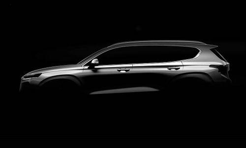 """""""Soi"""" mẫu Hyundai Santa Fe 2019 thế hệ mới sắp ra mắt - Ảnh 1"""