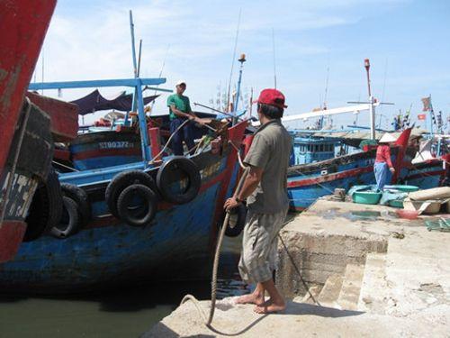 Ninh Thuận cấm tàu thuyền ra biển từ 18 giờ tối nay - Ảnh 1