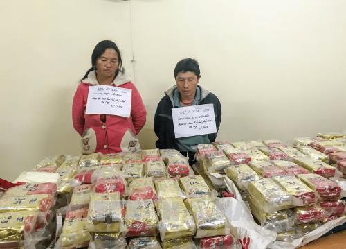 Bắt quả tang đối tượng vận chuyển ma túy trị giá 70 tỷ đồng - Ảnh 1