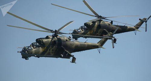 Trực thăng quân sự Nga rơi ở Syria, 2 phi công thiệt mạng - Ảnh 1