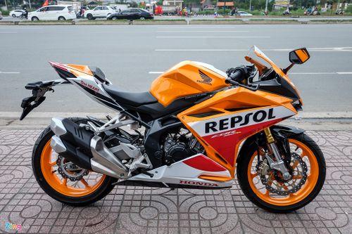 Honda CBR250RR Repsol lần đầu xuất hiện tại Việt Nam - Ảnh 1