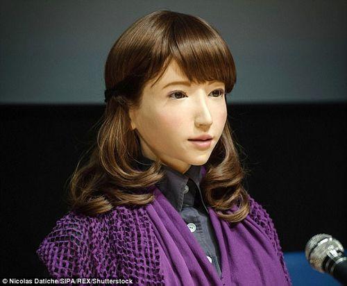"""Nhật Bản """"trình làng"""" Robot có thể dẫn chương trình  - Ảnh 1"""